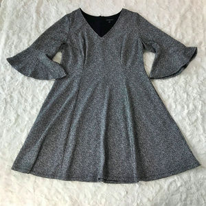 Lane Bryant Fit & Flare Bell Sleeve Dress 18/20